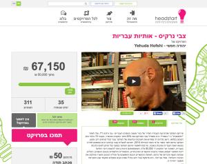 הצלחה מסחררת לגיוס התרומות לספר של צבי נרקיס ע״י יהודה חופשי