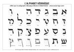 אלפבית מאת הקליגרף מישל ד׳אנסטסיו