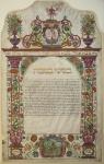 כתובה מוורונה, איטליה, 1678. מקור - וויקיפדיה