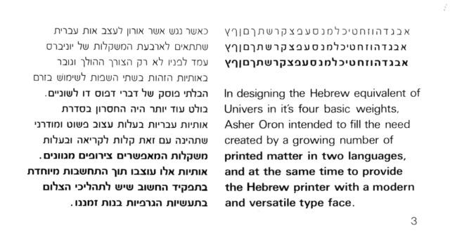 אות היא לעולם-קובץ מאמרים לעיצוב האות העברית-95